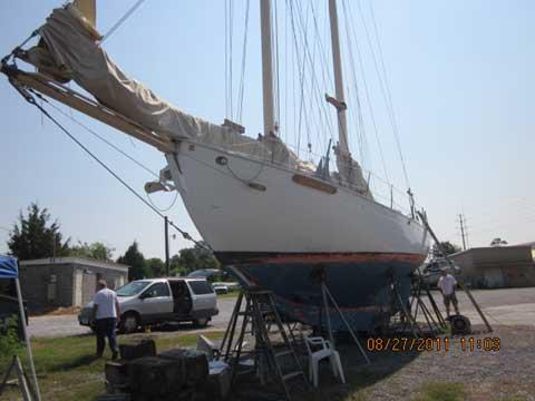 Alden Malabar II design schooner, 42 ft., 2010 sailboat