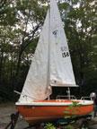1975 American Fiberglass 14 sailboat