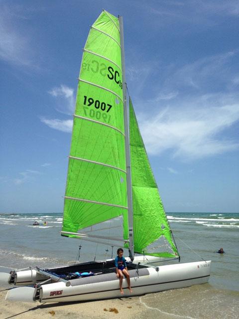 Aquarius Supercat 19x, 1998 sailboat