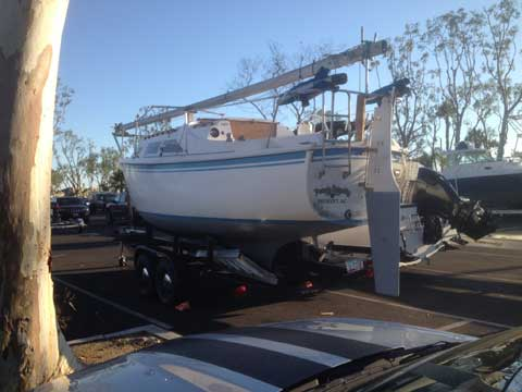 Balboa 27 sailboat