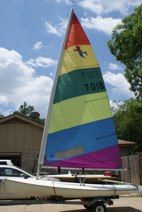 Banshee, 13 ft., 1981 sailboat