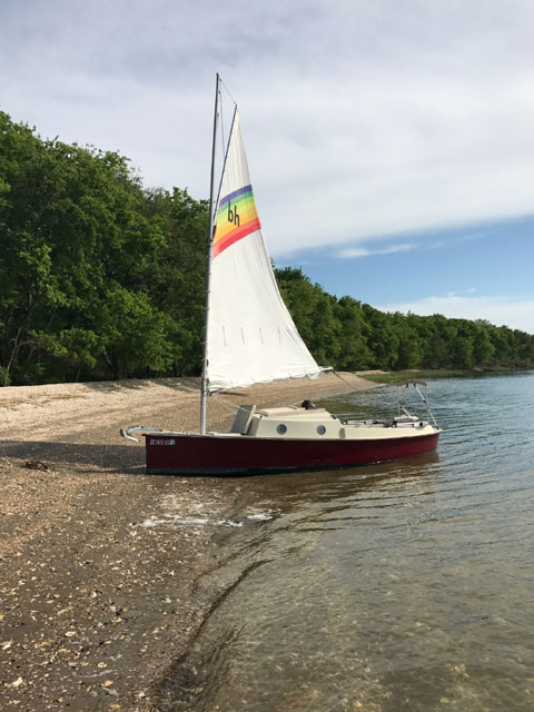 Bayhen 21, 1987 sailboat