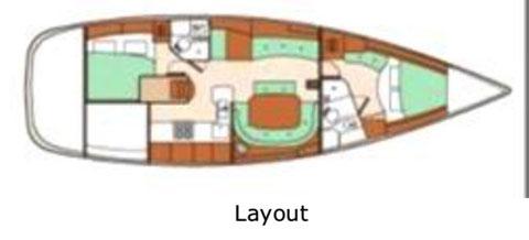 Beneteau 473, 2004 sailboat