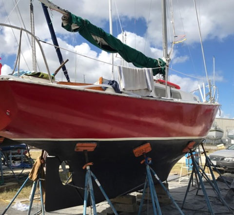 Bristol 24, 1978 sailboat