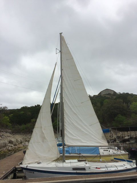 Cal 20, 1968 sailboat