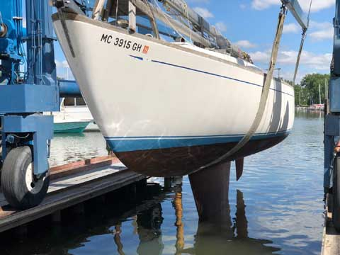 Cal 36, 1965 sailboat