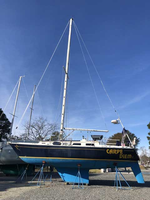 CAL-39, MKII, 1981 sailboat