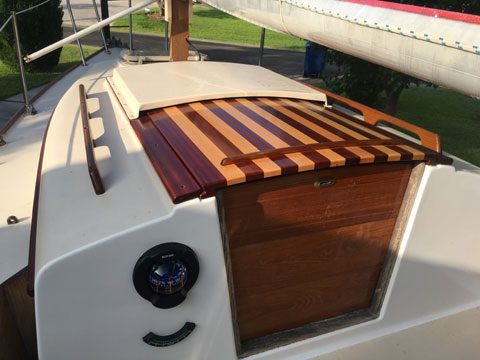 Cape Dory 22D, 1983 sailboat