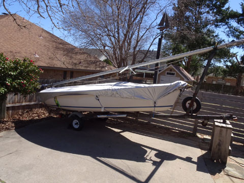Catalina Capri 14.2, 1985 sailboat