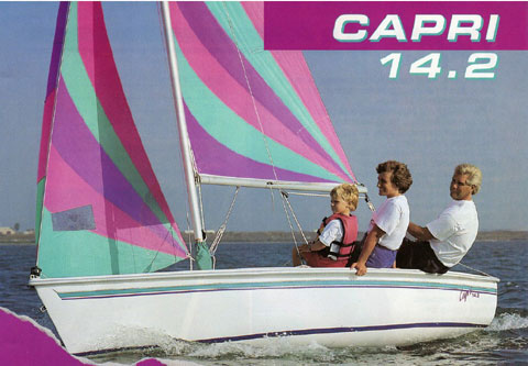 Catalina Capri 14.2, 1990 sailboat