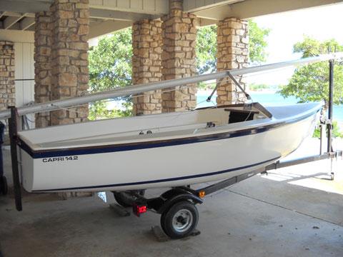 Catalina Capri 14.2, 1990 sailboat