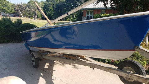 Omega / Capri 14.2, 1985 sailboat