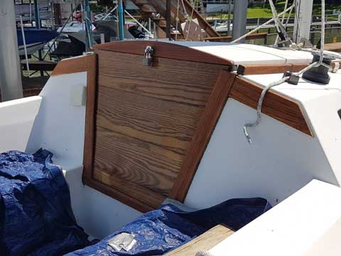 Capri 18 sailboat