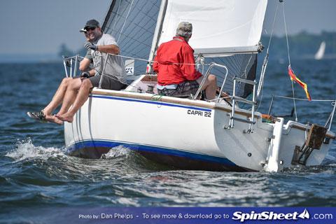 Capri 22, 1985 sailboat