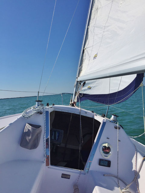 Catalina Capri 22, 2015 sailboat