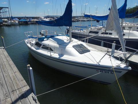 Catalina 22 MkII, 1998, Lawrence, Kansas, sailboat for sale