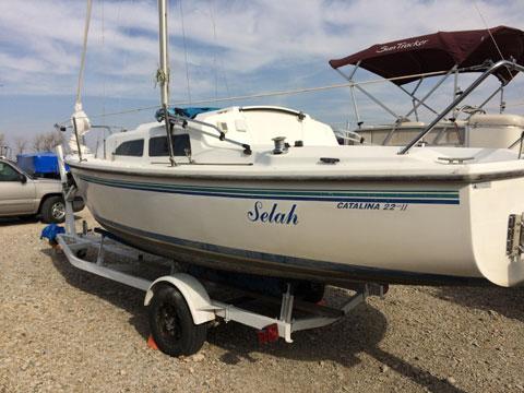 Catalina 22 MkII, 1998 sailboat
