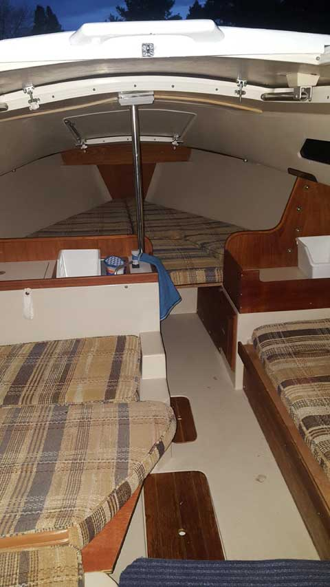 Catalina 22, 1986 sailboat