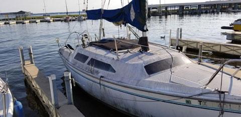 Catalina 250, 25' Swing Keel, 1993 sailboat