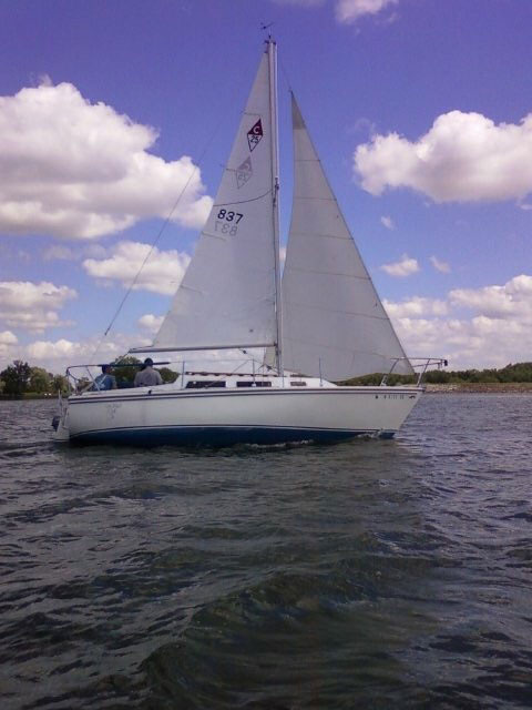 Catalina 25 Swing Keel, 1978 sailboat