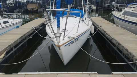 Catalina 25 Swing (retractable) Keel, 1982 sailboat