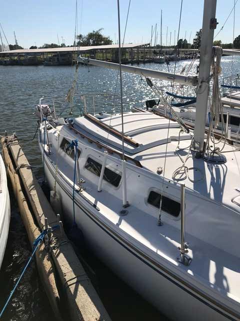 Catalina 25, 1983, Oklahoma City, OK sailboat
