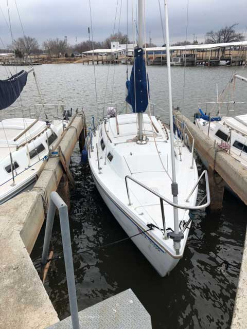 Catalina 25, 1983, Oklahoma City, OK sailboat