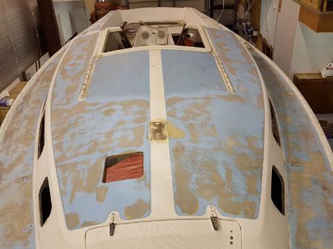 Catalina 30 project boat, 1977 sailboat