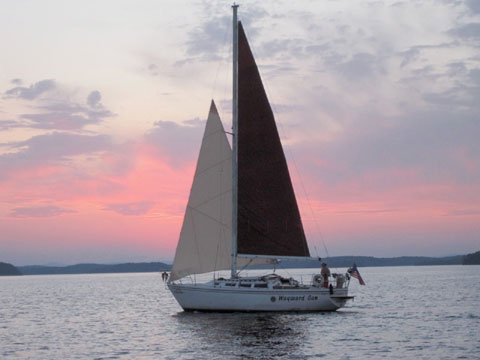 Catalina 30, 1984 sailboat