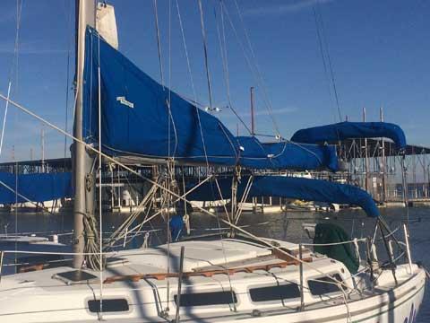 Catalina 30, Tall rig, 1983, sailboat