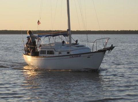 Cheoy Lee 28', 1974 sailboat