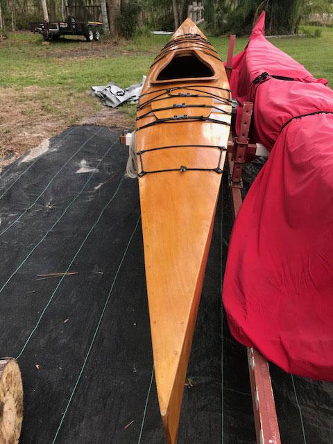 Chesapeake Light Craft Kayak sailboat