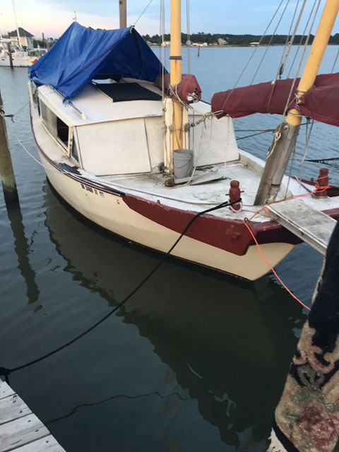 Chinese Junk, 30 ft., 1964 sailboat