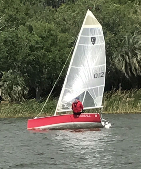 K Yachting Class Cup 16', 2002 sailboat