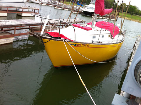 Columbia 34, 1966 sailboat