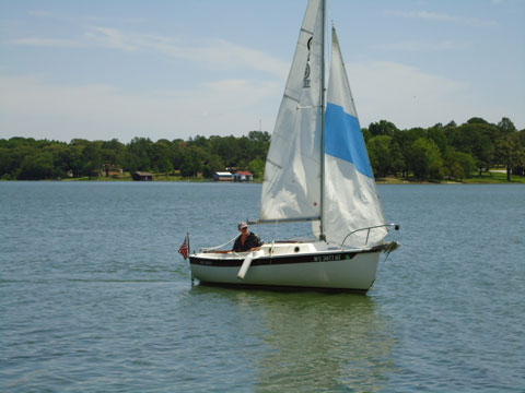 Com Pac 16', 1985 sailboat