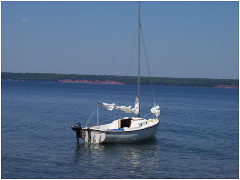 Compac 16, 1977 sailboat