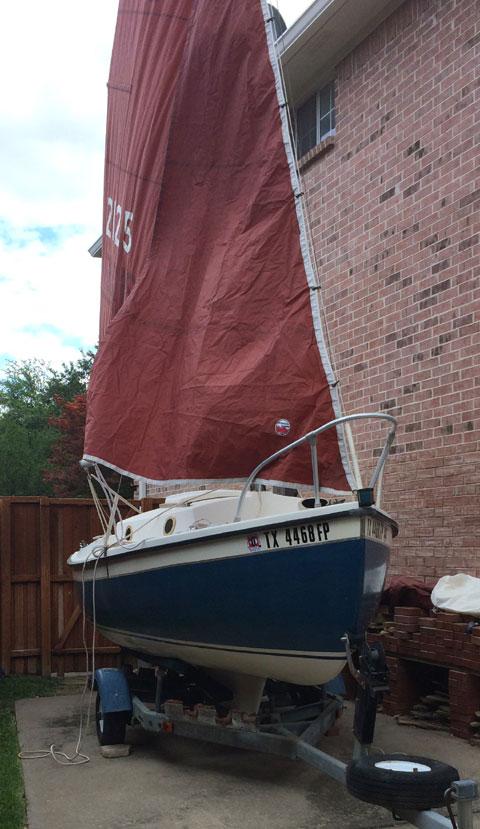 Com-Pac 16, 1984 sailboat
