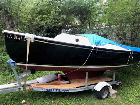 Com-pac 16', 1977 sailboat