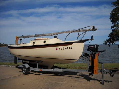 Com-Pac 16 Series II, 1987, sailboat