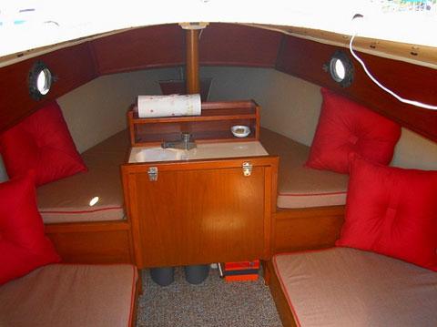 Com Pac 19/II, 1983 sailboat