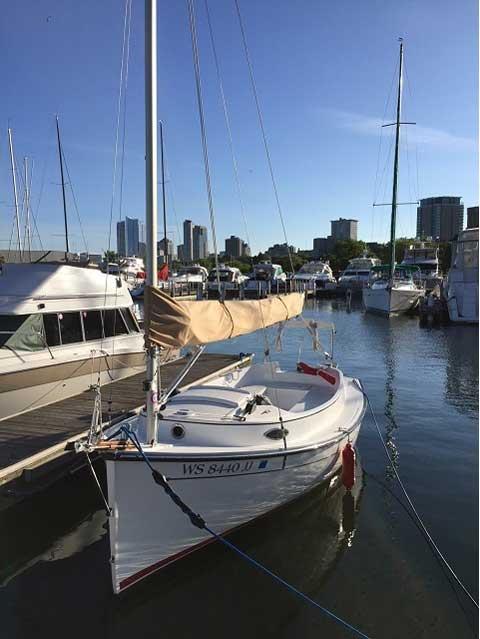 Com-Pac Horizon Day Cat  20', 2015 sailboat