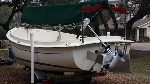 Com-Pac Picnic Cat (Catboat), 2014 sailboat