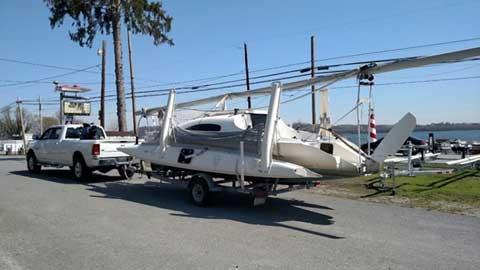 Corsair F-24 MK2, 1998 sailboat