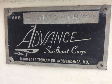 Dolphin Senior 15, 1979 sailboat