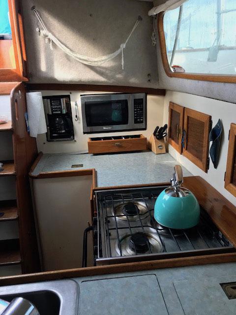 Downeaster 38', 1977 sailboat