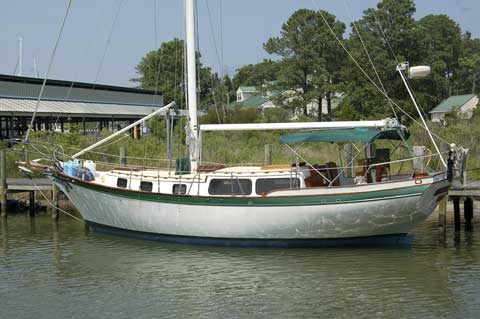 Down Easter 38 ft., 1978 sailboat