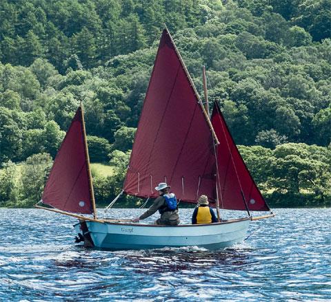 Drascombe Dabber sailboat