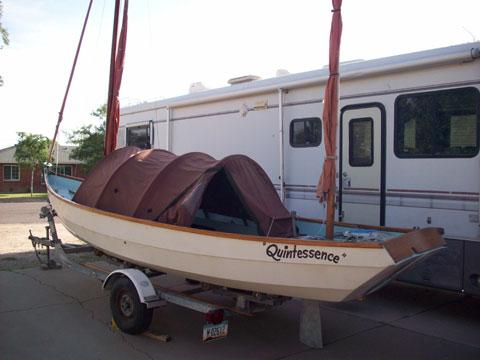 Drascombe Longboat, 1982 sailboat