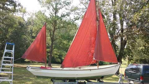 Drascombe Longboat, 1975 sailboat